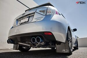 2011 2013 Subaru Wrx Hatchback Ark Performance Grip Exhaust W Tecno Tips