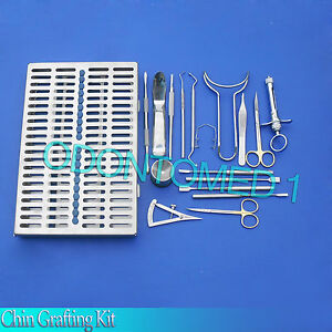 Chin Grafting Kit Surgical Dental Instruments ds 616