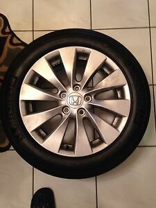4 Factory 2014 Honda Accord Wheels And Tires