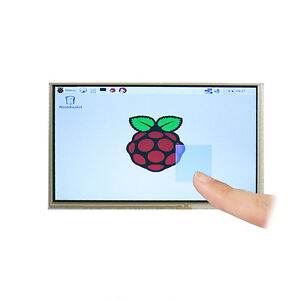 7 Inch Lcd Diy Monitor For Raspberry Pi Hdmi vga 2av Driver Board Touch Screen
