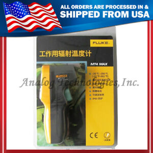 True New Fluke Mt4 Max Mini Laser Infrared Thermometer 22 662f Usa Seller