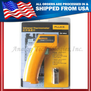 True New Fluke 59 F59 Mini Handheld Laser Ir Infrared Thermometer Gun 18 275c