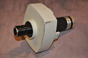 Bausch And Lomb Leica C Mount Video Microscope Lens And Mount