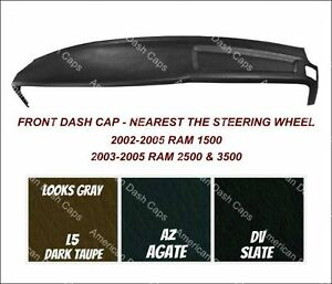 2002 2003 2004 2005 Dodge Ram 1500 Front Dash Cap Includes Choice Of Paint