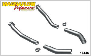 Magnaflow 16446 Stainless Steel Manifold Pipes 2 5 For 69 70 Mustang