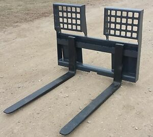 New 48 Hd 5500 Lb Pallet Forks free Shipping Skid Loader Steer Attachment