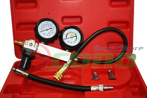 Tu 21 Cylinder Leakage Leakdown Leak Detector Engine Compression Tester Gauges