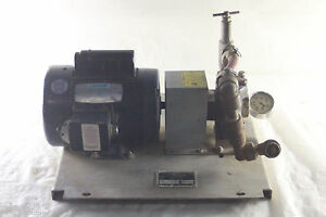 Wheeler rex 35100 Hydro static Test Pump