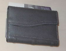 Foray Bonded Leather Personal Padfolio Gray Small New