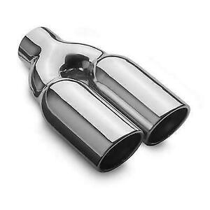Magnaflow 35168 Universal 3 Round Stainless Weld On Exhaust Tip 10 Long