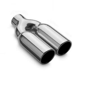 Magnaflow 35167 Universal 3 Round Stainless Weld on Exhaust Tip 10 Long