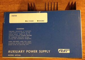 Est Fire Alarm System Auxiliary Power Supply Irc Aps4a Irc3 Fast Edwards