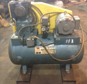 American 3hp Vertical Air Compressor Single Phase