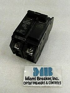 Thqc21100wl General Electric 2 Pole 100amp 240 Vac Circuit Breaker New