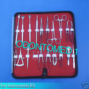 30 Pc O r Grade Basic Ophthalmic Eye Micro Surgery Surgical Instruments Ey 046
