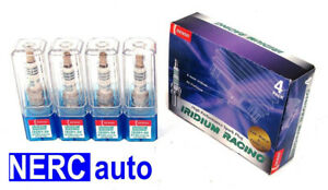 Denso Iridium Racing Spark Plugs Ikh01 24 Ikh0124 5749 Set Of 4