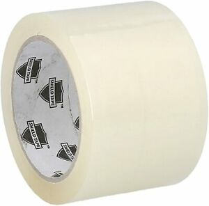 12 Rolls Clear Carton Sealing Packing Tape Box Shipping 3 2 3mil 110yd