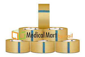 Clear Packing Tape 3 Mil Hotmelt 144 Rolls Of Tape 3 X55 Yards