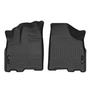 Husky Liners 18851 Black Front Floor Liners For 2013 Toyota Sienna
