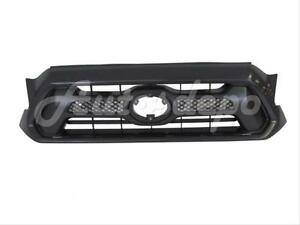For Toyota 2012 2015 Tacoma Grille Dark Gray With Black Molding