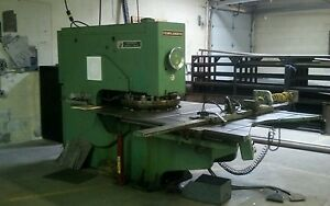 Wiedemann Templamatic Ra25c Turret Punch Press And Tooling