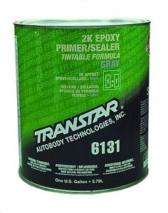 Transtar 6131 6141 6714 2k Epoxy Gray Primer Sealer 1gal Kit