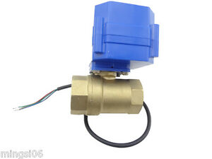 Motorized Ball Valve 220v 2 Way Dn20 reduce Port Electrical Valve