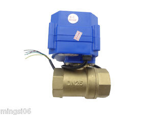 Motorized Ball Valve 220v 2 Way dn25 reduce Port electrical Valve motorizedvalve