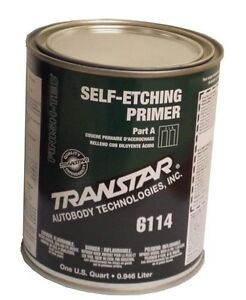 Transtar 6114 Self Etching Primer Quart Green