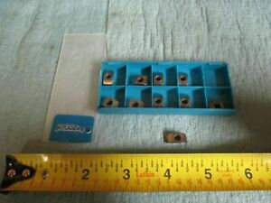 10pcs New Ingersoll Bde 223r 001 Grade In40p Carbide Inserts Cnc Mill Tooling
