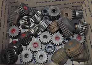 Large Lot Of Miller Welder Gears Various Sizes And Materials