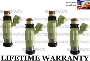 Genuine Bosch Set Of 4 Fuel Injectors For Mitsubishi Dodge Chrysler 2 4l