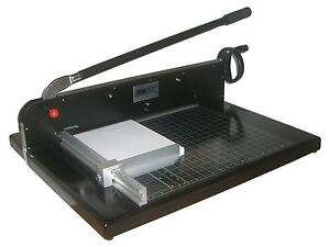 New Come 9770ez 19 Heavy Duty Guillotine Paper Cutter Stack Paper Cutter