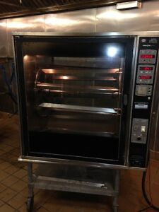 Henny Penny Counter Top Rotisserie Scr 8 Electric