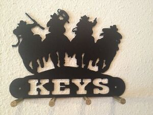 Sheriff Posse Key Holder With Bullet Casings Made In USA Real Steel!