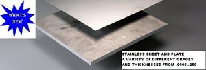 Stainless Steel Sheet 0015 X 24 X 48