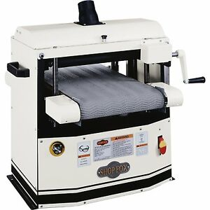 Shop Fox W1740 1 1 2 Hp 18 Amp 12 Drum Sander
