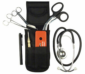 New Emt ems Paramedic Fire rescue Deluxe Tool Kit W Stethoscope Penlight
