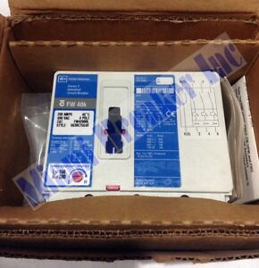 Fw42000l Cutler Hammer Circuit Breaker 4 Pole 200 Amp 690v new In Box