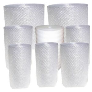 New Small Bubble Cushion Wrap Rolls 3 16 Bubbles 350 450 Ft Foam Moving Supplies