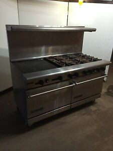 60 American Range Quality Cooking Restaurant 6 Burner Oven