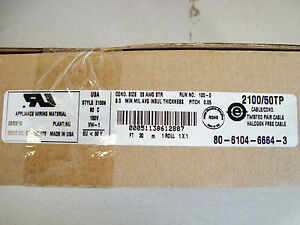 3m 2100 50tp Flat Cable Roll Of 30m 98 43 Ft