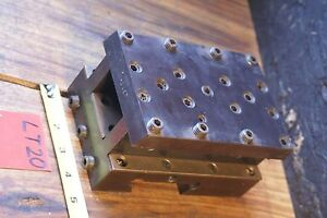 Warner Swasey M 6657 1ac Tool Holder Block Grooving Facing Turret Lathe