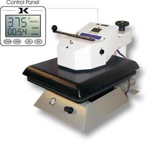 Geo Knight Heat Press Dk20sp Air Automatic 16 x20 Swing away Threadable Table