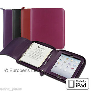 Filofax A5 Pennybridge Zipped Organiser Ipad Case All Colours Available