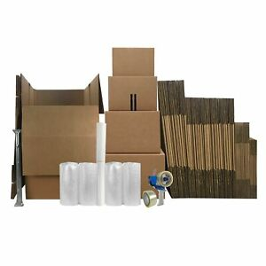 Wardrobe Moving Kit 5 57 Medium Large Xl Boxes Moving Supplies