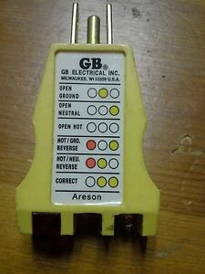 Electrical Receptacle Tester great Home Inspection Tool