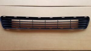 Fits 2012 2014 Toyota Camry L Le Xle Front Bumper Grille Lower Center New