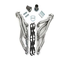Hedman Hedders 68606 Htc Coated Shortie 1 5 8 Headers For Buick chevy pontiac
