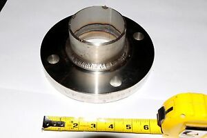 Stainless Steel 3 7 5 Pipe Slip on Lap Joint Flange Ss 316l